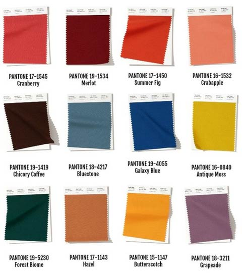 Fall 2020 Color Trends.2019 2020 Fall Winter Trend Colors