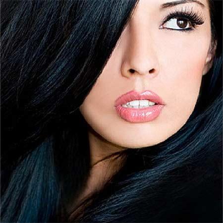 Raven Black Hair